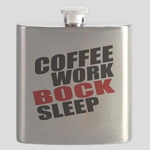 Coffee Work Bock Sleep Flask
