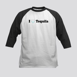 I Love Tequila Kids Baseball Jersey