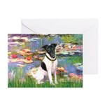 Lilies / Smooth T (#1) Greeting Cards (Pk of 10)