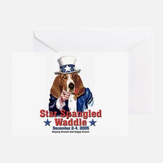 waddlelogo Greeting Cards