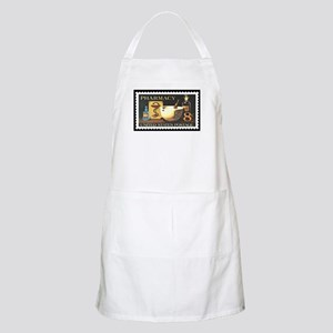 Pharmacist Stamp Collecting BBQ Apron