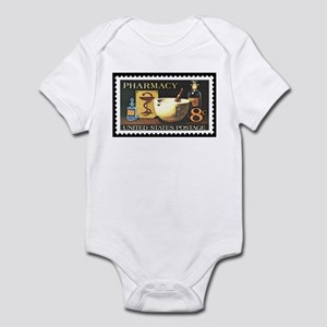 Pharmacist Stamp Collecting Infant Bodysuit