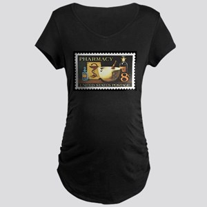 Pharmacist Stamp Collecting Maternity Dark T-Shirt
