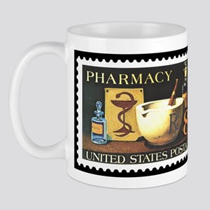 Pharmacist Stamp Collecting Mug
