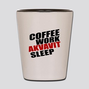 Coffee Work Akvavit Sleep Shot Glass