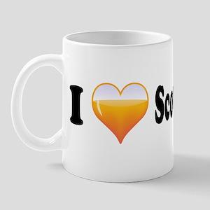 I Love Scotch Whisky Mug