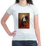 Lincoln / Smooth T (#1) Jr. Ringer T-Shirt