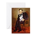 Lincoln / Smooth T (#1) Greeting Cards (Pk of 20)