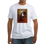 Lincoln / Smooth T (#1) Fitted T-Shirt