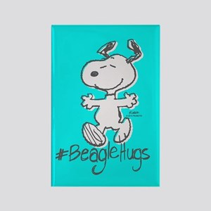 Snoopy Beagle Hugs Full Bleeds Magnets