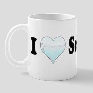 I Love Schnapps Mug