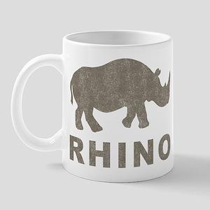 Vintage Rhino Mug