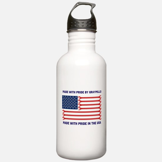 Made With Pride in the USA Water Bottle