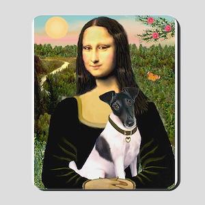 Mona's Smooth Fox Terrier (Bl Mousepad