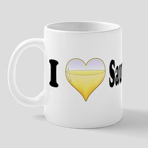 I Love Sauvignon Blanc Mug