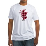 Map - Brice Fitted T-Shirt