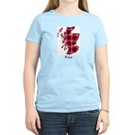 Map - Brice Women's Light T-Shirt