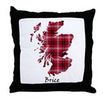 Map - Brice Throw Pillow