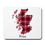 Map - Brice Mousepad