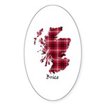 Map - Brice Sticker (Oval 50 pk)