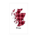 Map - Brice Sticker (Rectangle 10 pk)