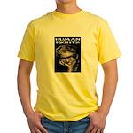 HUMAN RIGHTS Yellow T-Shirt