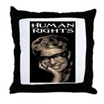 HUMAN RIGHTS Throw Pillow