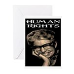 HUMAN RIGHTS Greeting Cards (Pk of 20)