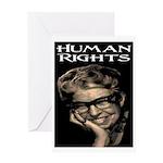 HUMAN RIGHTS Greeting Card