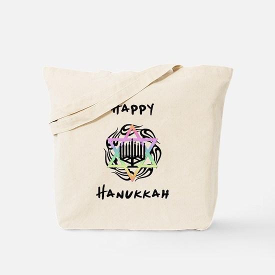 Happy Hanukkah Tote Bag