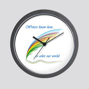 Writers know how... Wall Clock