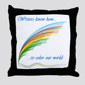 Writers know how... Throw Pillow