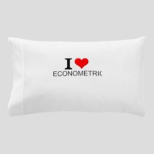 I Love Econometrics Pillow Case