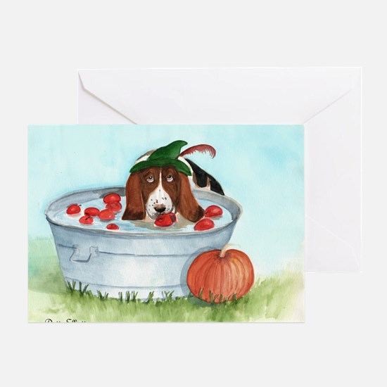 Bobbing for Apples Greeting Cards