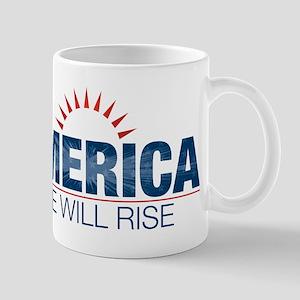 America- We Will Rise Mug