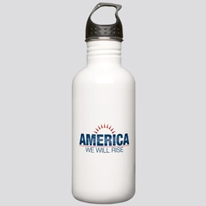 America- We Will Rise Stainless Water Bottle 1.0L