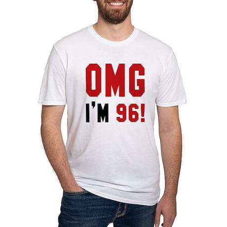 OMG I'm 96 Fitted T-Shirt