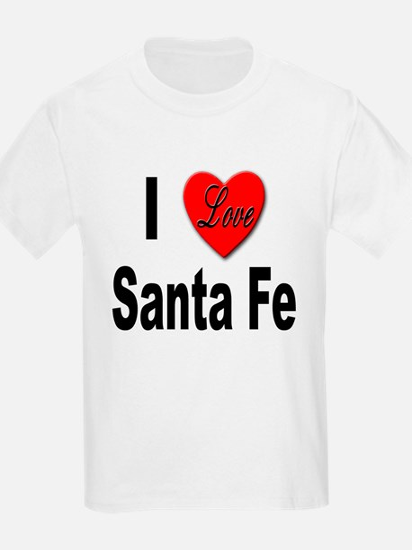 I Love Santa Fe (Front) Kids T-Shirt