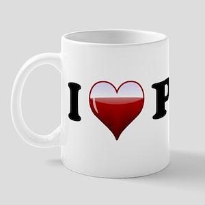 I Love Port Mug