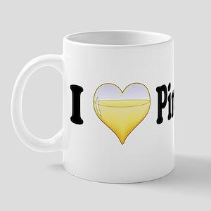 I Love Pinot Grigio Mug