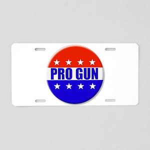 Pro Gun Aluminum License Plate