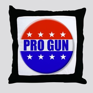 Pro Gun Throw Pillow
