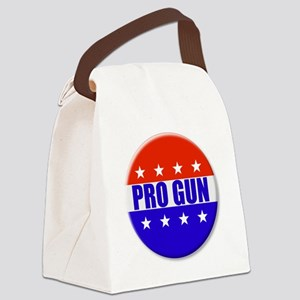 Pro Gun Canvas Lunch Bag
