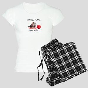 Kittin Knittin' Pajamas