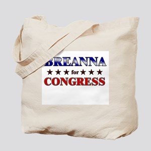 BREANNA for congress Tote Bag