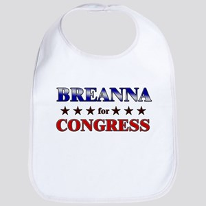 BREANNA for congress Bib