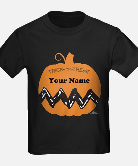 Peanuts Trick or Treat Personalized T-Shirt