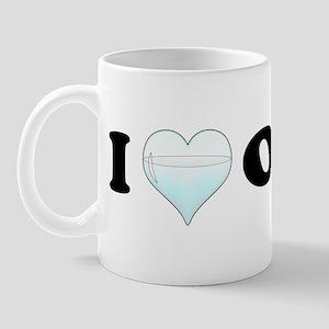 I Love Ouzo Mug