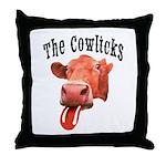 Cowlicks Throw Pillow