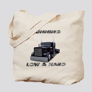 Running Low & Hard Tote Bag